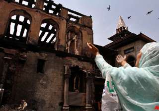 strike over shrine fire disrupts normal life in...