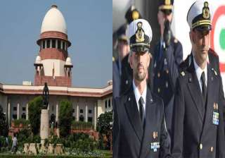 supreme court notice on italian marines plea...