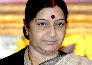 sushma swaraj reviews iraq action plan with gulf...