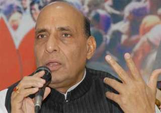 take pandits into confidence rajnath to home...