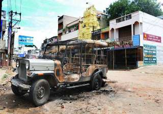 telangana issue situation under control in...