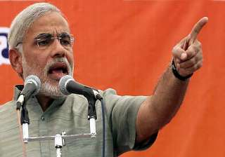 told pm about unfinished work on narmada dam many...