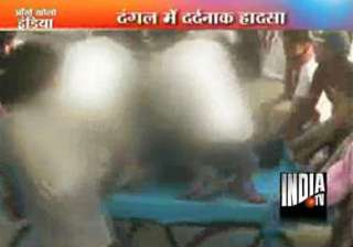victorious wrestler electrocuted in ring - India...