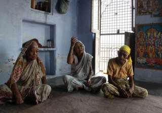 widows in varanasi celebrate raksha bandhan -...
