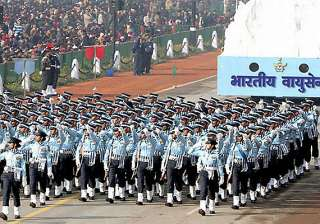 woman leads indian air force contingent for the...