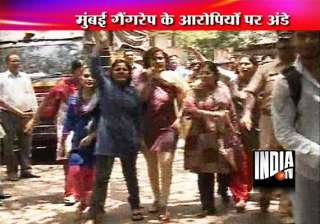 women hurl eggs at mumbai gang rape accused...