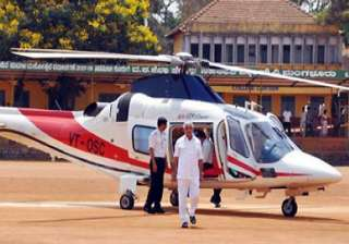 yeddyurappa to curtail travel by choppers - India...
