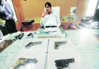 1 950 illegal pistols seized three held - India TV