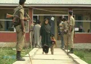 4 059 polling booths in kashmir declared critical...