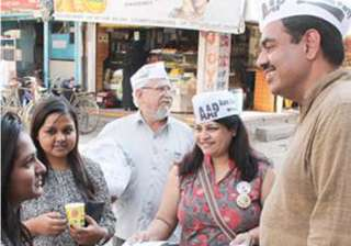 aap declares three more candidates for lok sabha...