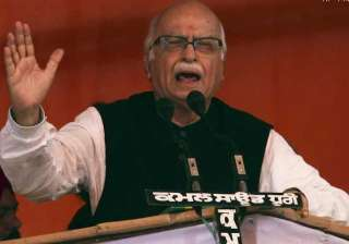 advani stakes claim fight ls polls from...