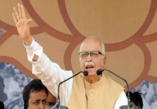 advani compares bengal with gujarat - India TV