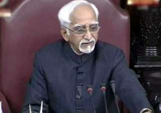 ansari agrees to review anarchist remark - India...