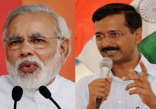 bjp jubilant over modi candidature will kejriwal...
