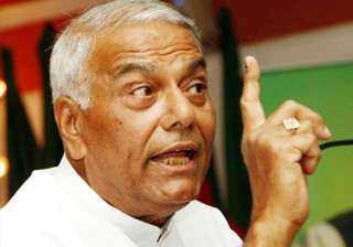 bjp not aggressive against govt in rs yashwant...