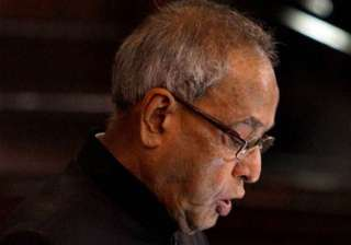 bjp relieved as president cuts short his bihar...