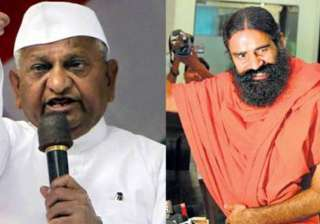 bjp appears to endorse hazare ramdev agitation...