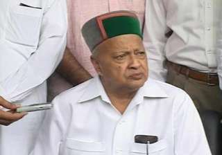 bjp welcomes virbhadra s resignation hopes pm...