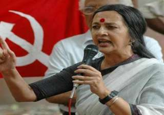 brinda karat lashes out at mamata over bareilly...