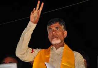 chandrababu naidu signs five files at swearing in...