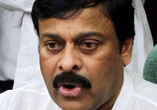 chiranjeevi finds fault with brother s meeting...