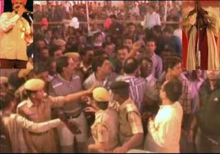 congress bjp councillors in udaipur scuffle after...