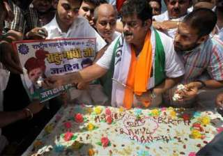 congress celebrates rahul gandhi s 44th birthday...