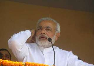congress ridicules modi for toilet remark - India...