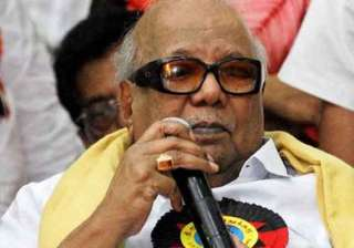 dmk wants steps for permanent solution to...