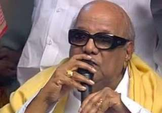 dmk will never remain silent to anti people...