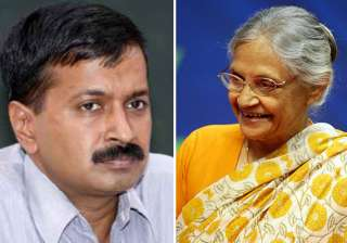 delhi polls kejriwal invites sheila dikshit for...