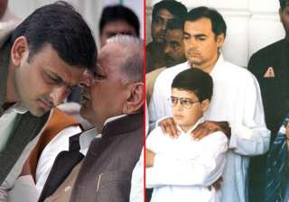 famous father son duos of indian politics - India...
