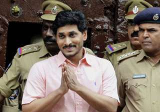 fasting jagan wants family member to attend to...
