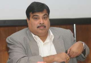 gadkari attacks congress sp for indulging in...