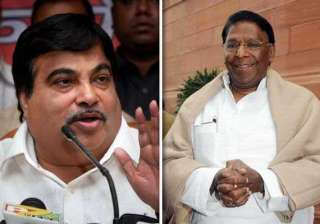 gadkari demands apology from narayanasamy - India...