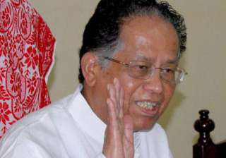 gogoi rules out division warns against violence -...