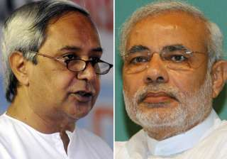 i am not comfortable with idea of modi naveen...