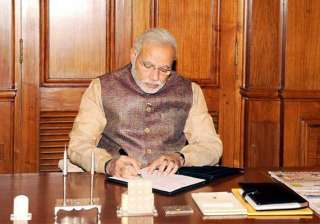 i had no luxury of honeymoon period says narendra...