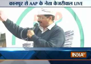 in pics arvind kejriwal s kanpur rally - India TV