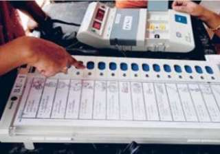 polling in rajasthan for 1st phase of local body...