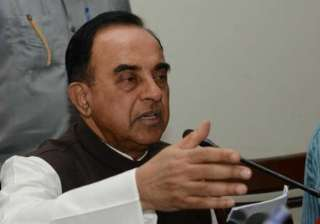 time for mamata to go subramanian swamy - India TV
