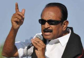 vaiko demands scrapping of neutrino project in tn...