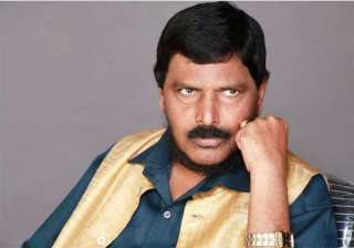 athawale asks bjp to make him central minister -...