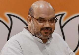 amit shah takes swipe at janata pariwar - India TV