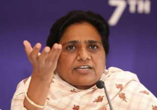 mayawati asks bsp workers to help poor on her...