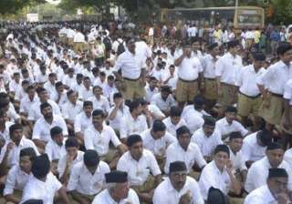 delhi polls rss mobilises cadre to ensure bjp s...