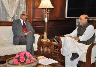 j k governor meets jaitley rajnath singh - India...