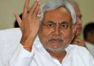 nitish flays singh comments on media - India TV