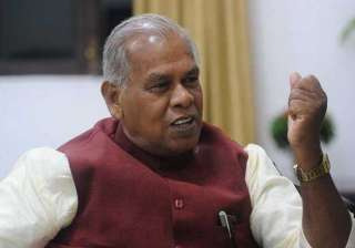 jitan ram manjhi a nominated cm not an elected...