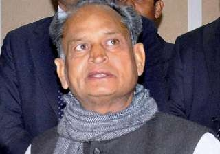 ashok gehlot condemns giriraj s comments on sonia...